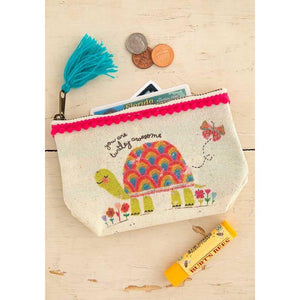 Natural Life Mini Canvas Pouch 5 Styles - Global Free Style