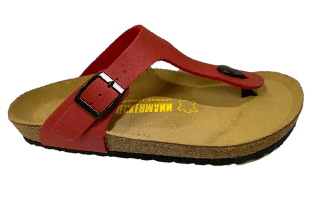 Neckermann Classic Thong Shoes Red - Global Free Style