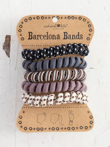 Natural Life Barcelona Bands Paracord Charcoal - Global Free Style