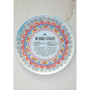 Natural Life Melamine Plate 2 Styles - Global Free Style