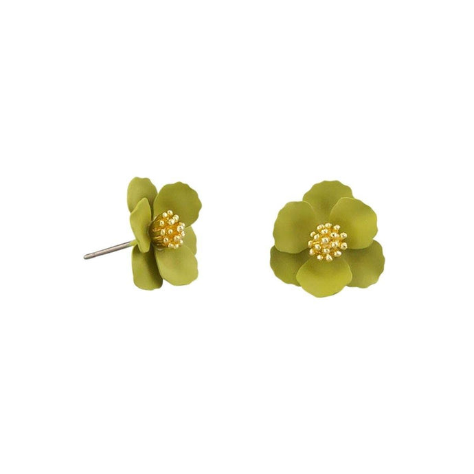 Tiger Tree Ceylon Pansy Earrings - Global Free Style