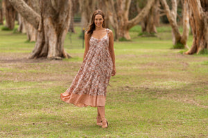 Boho Miriane Tier Dress - Global Free Style