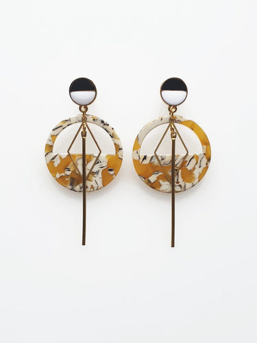 Middle Child Mast Earring Mustard - Global Free Style