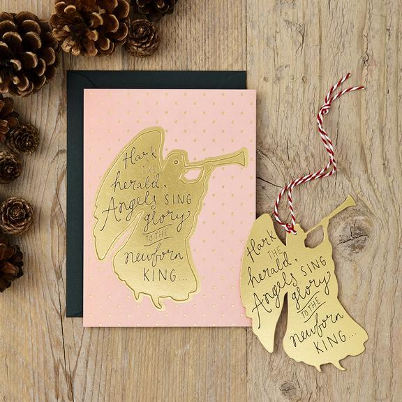 Katie Leamon Christmas Pop Out Card Angel - Global Free Style