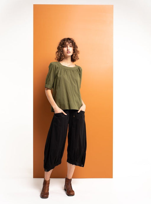 Boom Shankar Bliss Top Basic Khaki - Global Free Style