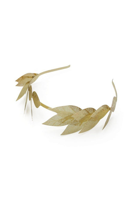 Morgan & Taylor Grecia Headband Fascinator Gold - Global Free Style