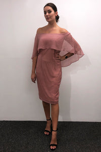 Barclay Street Venice Dress Dusty Pink - Global Free Style