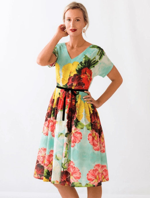Lazybones Ella Dress Begonia - Global Free Style