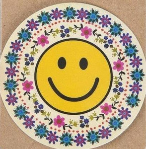 Natural Life Sticker Smiley Face 023 - Global Free Style
