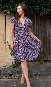 Boho Nadias Dress Navy - Global Free Style