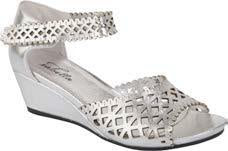 Isabella Kazlou Shoes Metallic Silver - Global Free Style