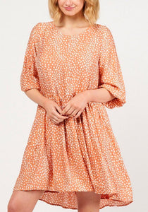 Ebby and I Kanjini Dress Peach - Global Free Style