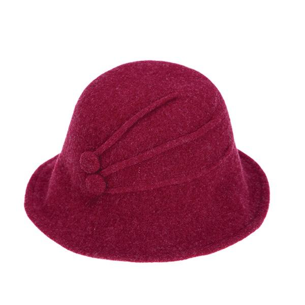 Ameise Hat Angelina Wool Burgandy Red - Global Free Style