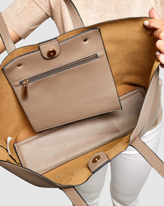 Louenhide Bickle Taupe Bag - Global Free Style