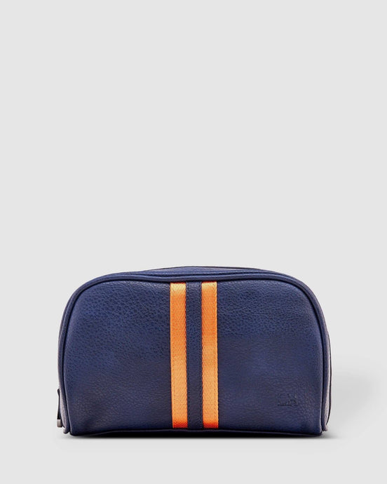 Louenhide Mens Sinatra Toiletry Bag Navy - Global Free Style