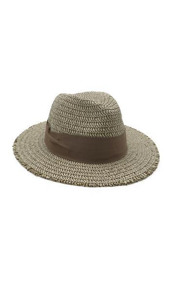 Morgan & Taylor Bridie Fedora - Taupe - Global Free Style