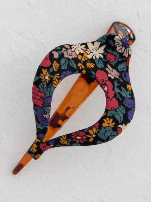 Natural Life Boho Clip Floral Navy - Global Free Style