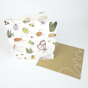 Monster Threads Greeting Card Insects - Global Free Style