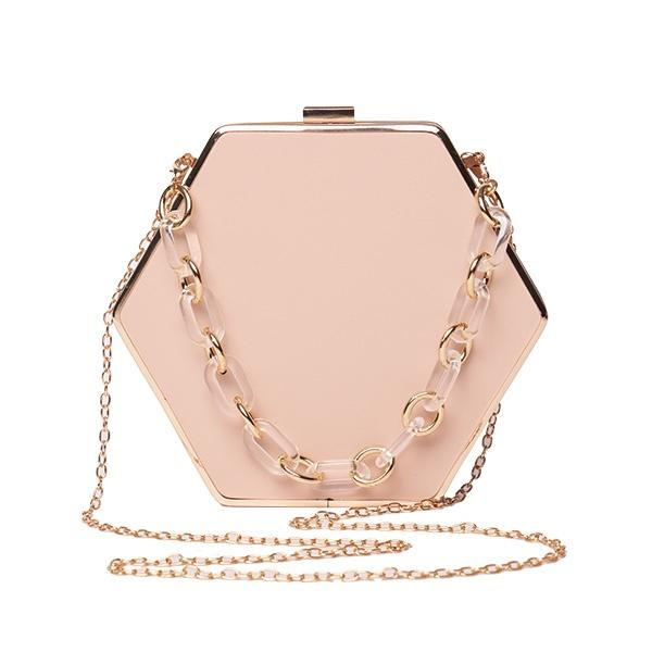 Ameise Bag Silvia Square Wristlet Clutch Nude - Global Free Style