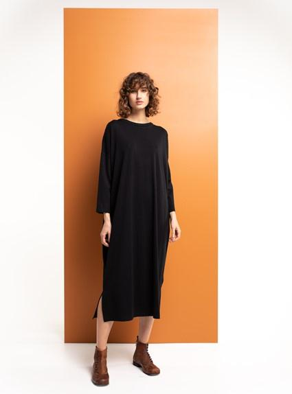 Boom Shankar Everley Long Dress - Black - Global Free Style