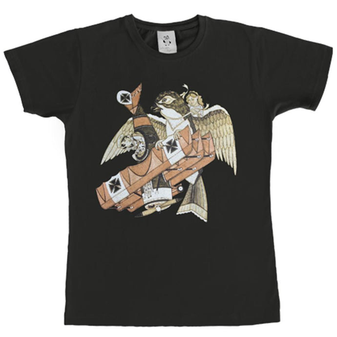 Monster Threads Mens Tee Falcon or Fall Charcoal Mens - Global Free Style