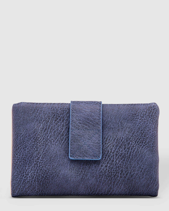 Louenhide Bailey Wallet Denim - Global Free Style