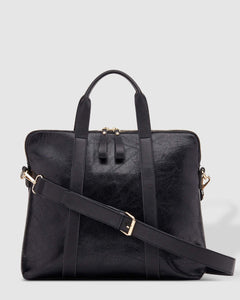 Louenhide Rhodes Lizard Black Laptop Bag - Global Free Style