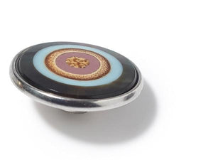 Noosa Amsterdam Solar Pink Blue Pearl Resin Wood - Global Free Style