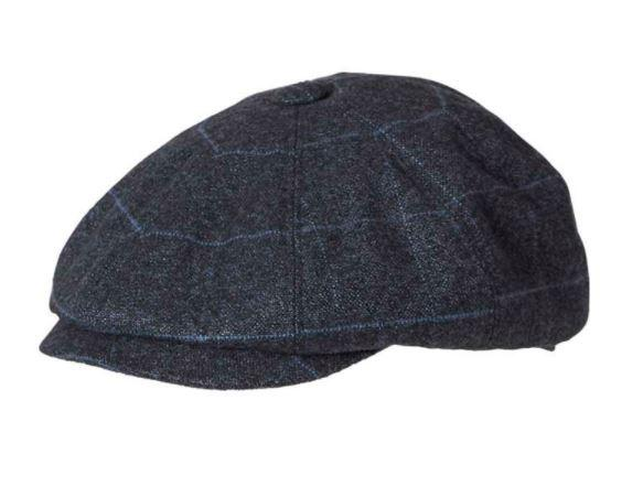 Kooringal Mens Driver Cap Apple Navy - Global Free Style