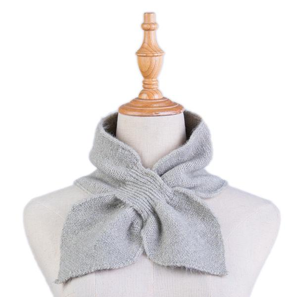 Ameise Scarf Neck Plush Tie Mint Green - Global Free Style