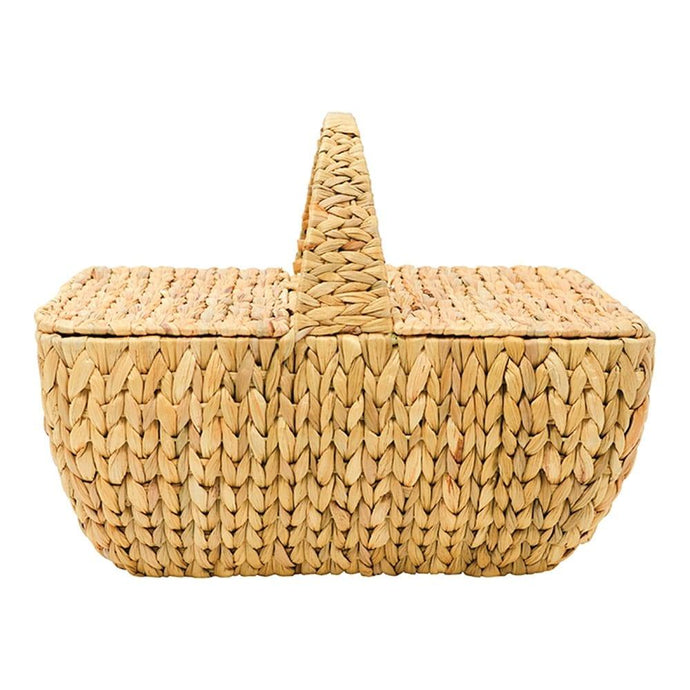 Annabel Trends Picnic Basket Water Hyacinth - Global Free Style
