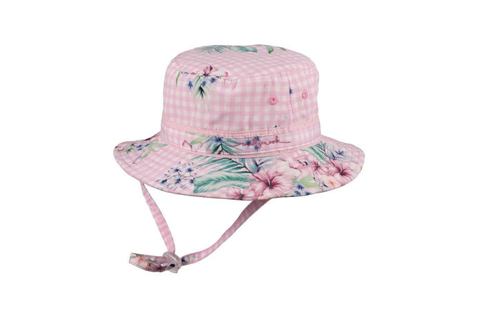 Baby Millymook Baby Girls Bucket Hat Juliet Pink - Global Free Style