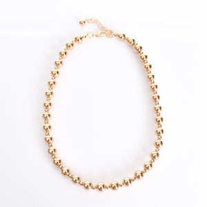 Adorne Interval Small Ball Necklace - Global Free Style