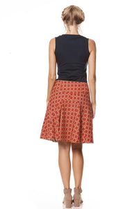 MahaShe Chameleon Reversible Skirt Coral and Kaleido Peach - Global Free Style