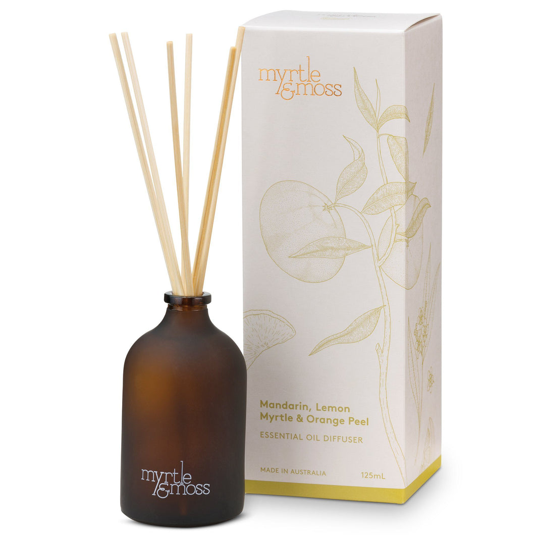 Myrtle & Moss Essential Oil Diffuser Mandarin, Lemon Myrtle & Orange Peel. - Global Free Style