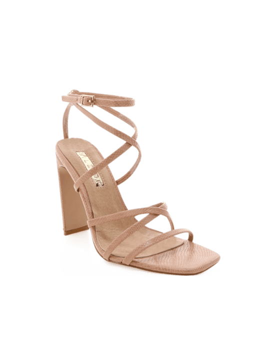 Billini Demi Blush Snake Shoes - Global Free Style
