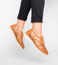 Rollie Derby Cage Tan Shoes - Global Free Style