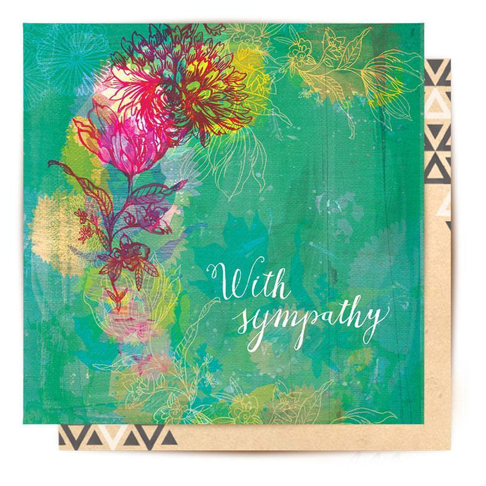 La La Land Greeting Card With Sympathy - Global Free Style