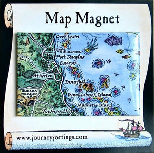 Journey Jotting Tropical North QLD Magnet - Global Free Style