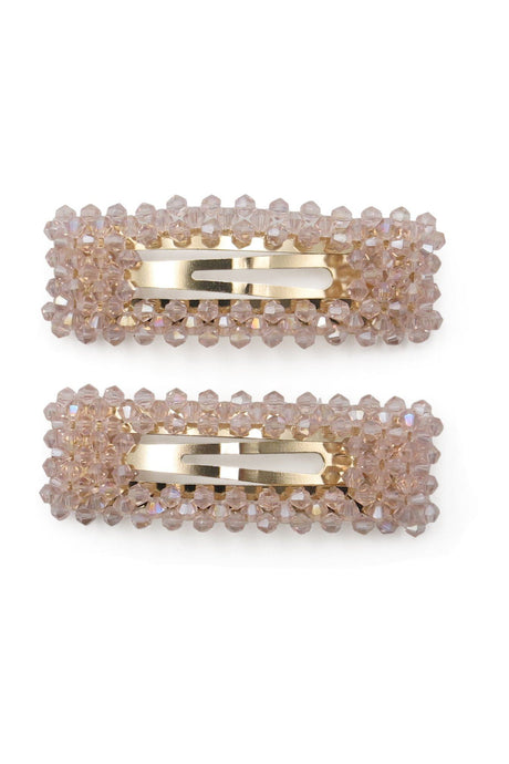 Morgan & Taylor Lorenza Hair Clip Set Pink.. - Global Free Style