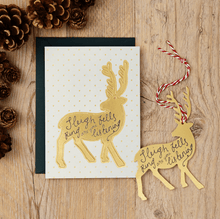 Katie Leamon Christmas Pop Out Card Reindeer - Global Free Style