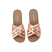 Salt Water Retro Slide Shoes Rose Gold - Global Free Style