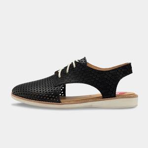 Rollie Slingback Punch Black/Geo Black - Global Free Style