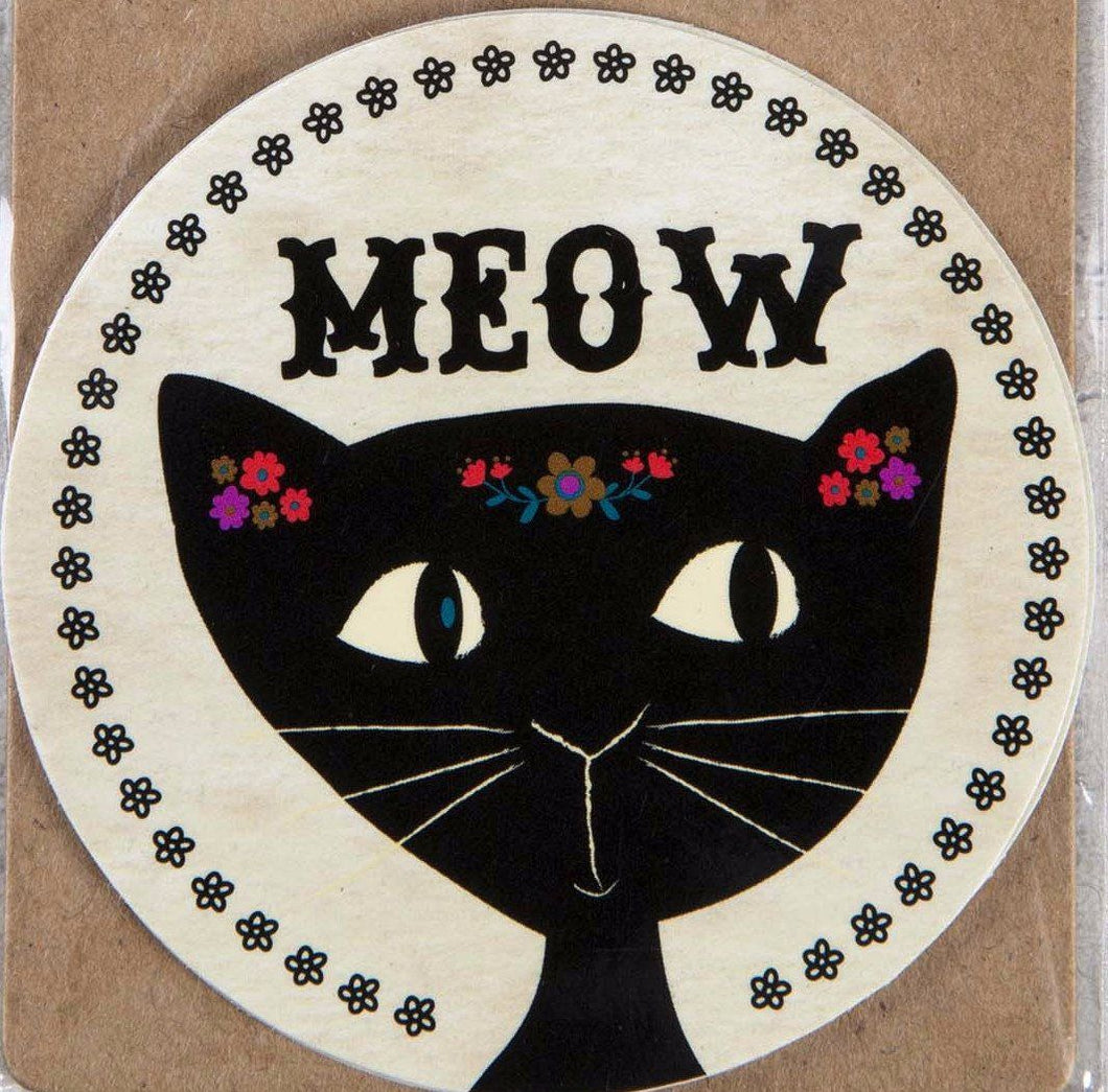 Natural Life Sticker Meow 004 - Global Free Style