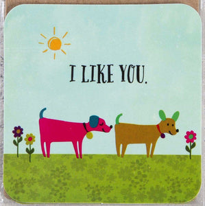 Natural Life Sticker I Like You 011 - Global Free Style