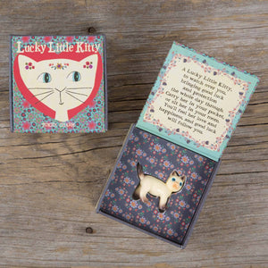 Natural Life Token Charm In Box - Lucky Kitty - Global Free Style