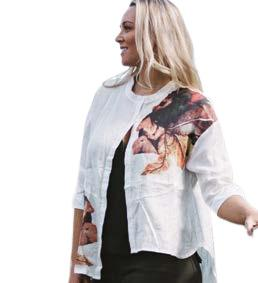 Ameise Aria Shirt White - Global Free Style