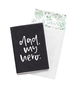 Emma Kate Dad My Hero Greeting Card - Global Free Style