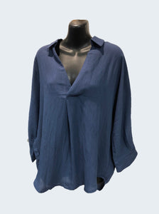 Worthier Mariana Linen Top 3 Colours - Global Free Style