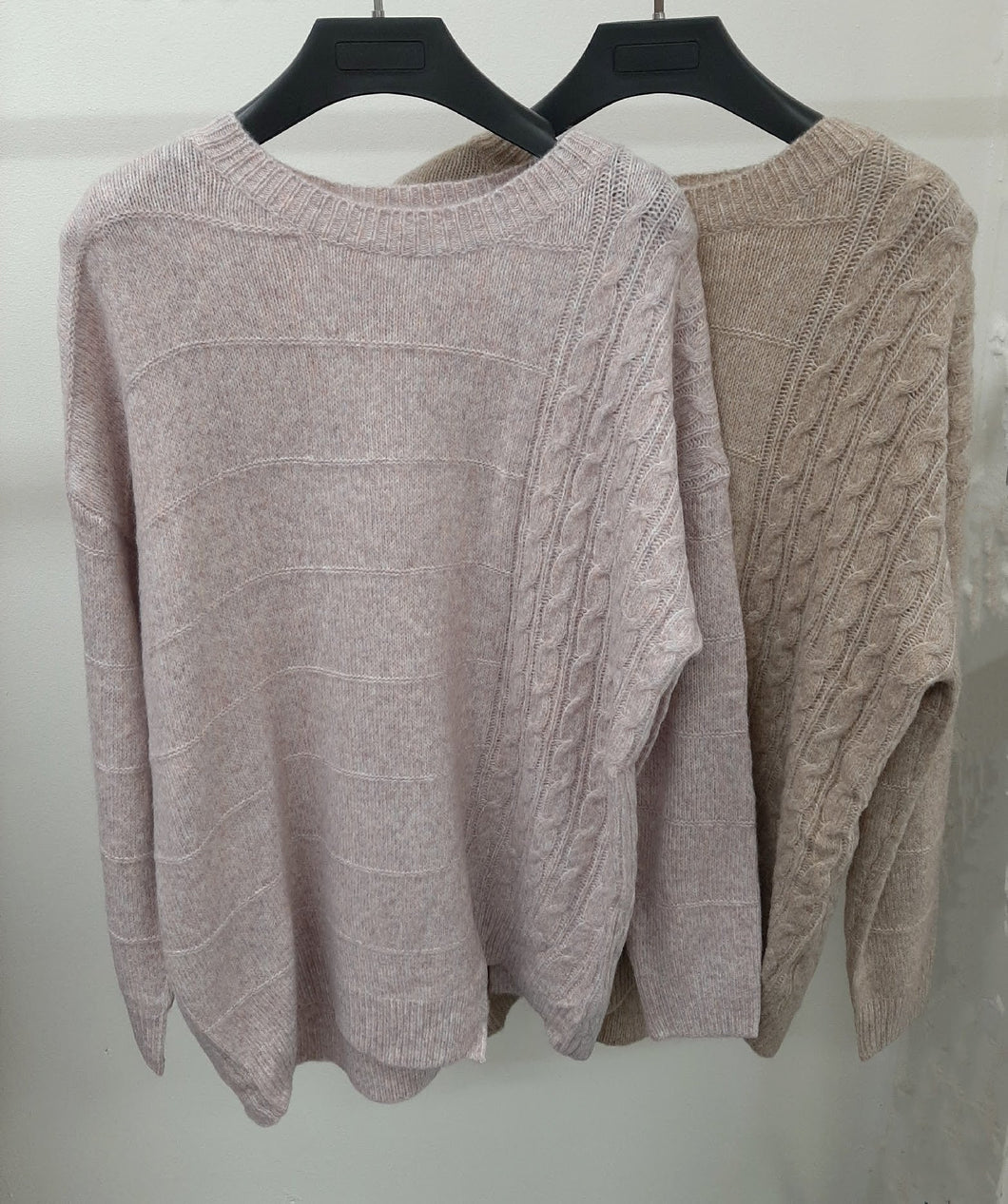 Worthier Plait Knit Jumper 2 Colours - Global Free Style